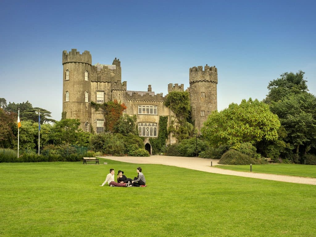 Malahide Castle is one of 10 romantic spots for a picnic in Dublin