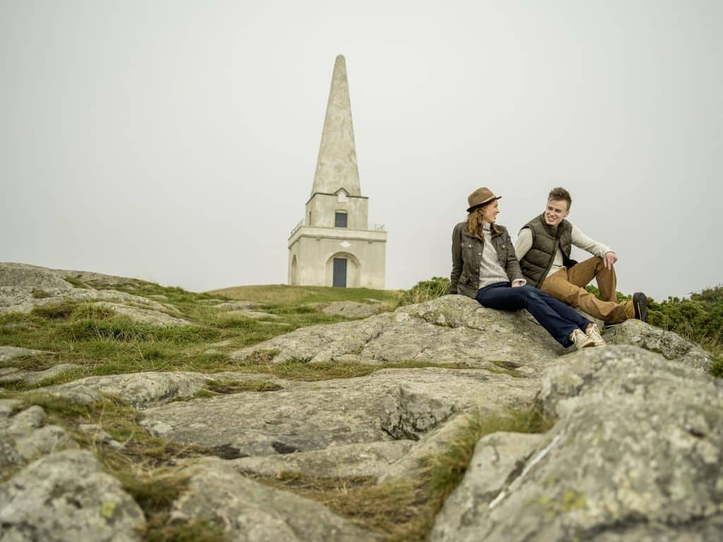 Killiney Hill is the ideal place for a romantic picnic