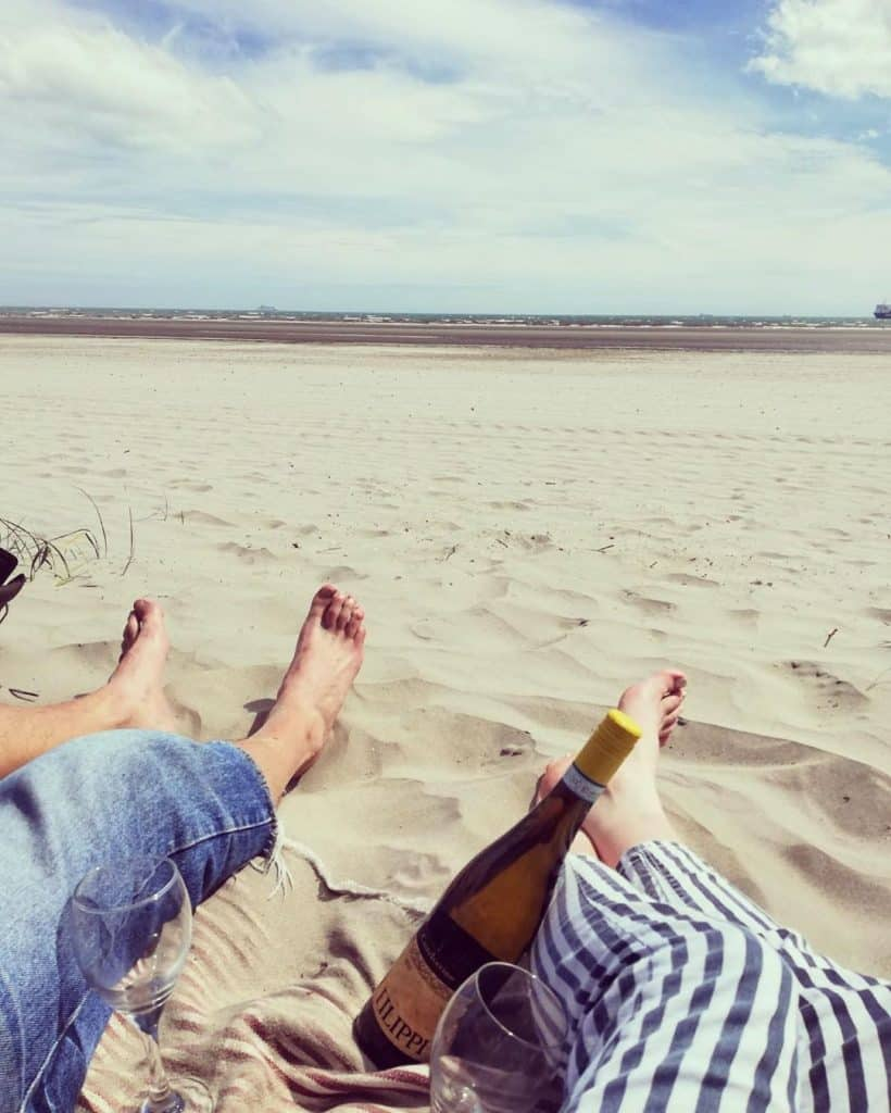Bull Island is a great place for couples to have a picnic
