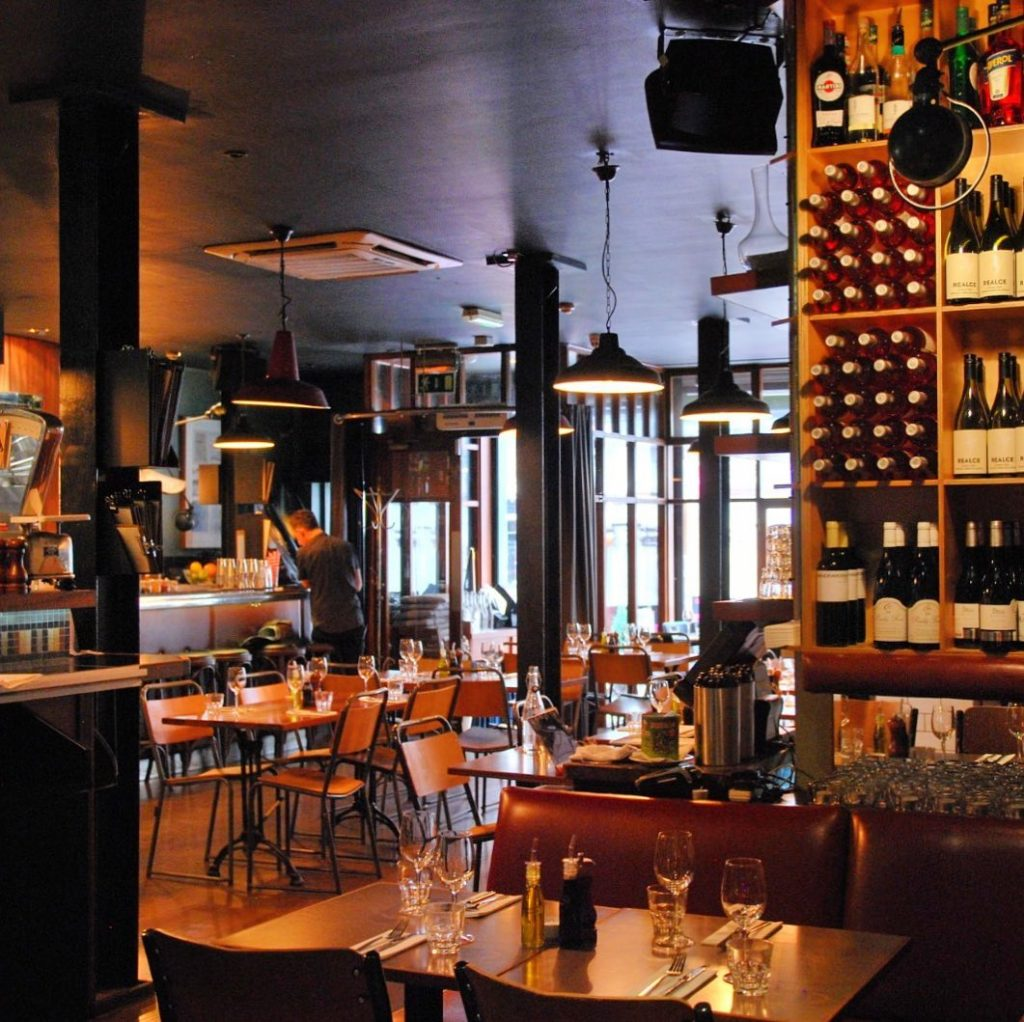 Coppinger Row is one of the 10 poshest bars in Dublin