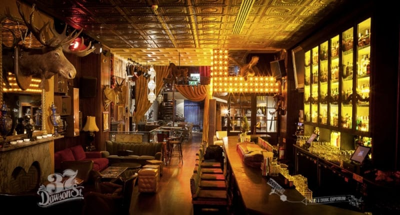 37 Dawson Street is top posh bar in the capital of Ireland