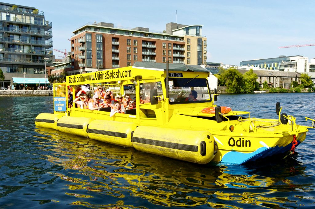 The Viking Splash Tour is one of 10 go-to places you should take everyone who visits Dublin
