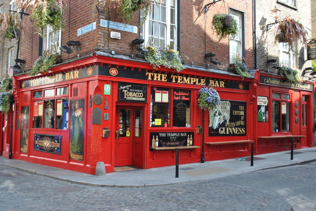 Temple Bar is one of 10 go-to places you should take everyone who visits Dublin
