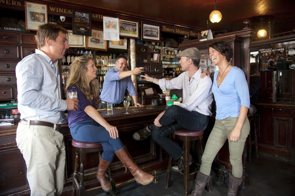 Toner's pub is a great places to take visitors in Dublin