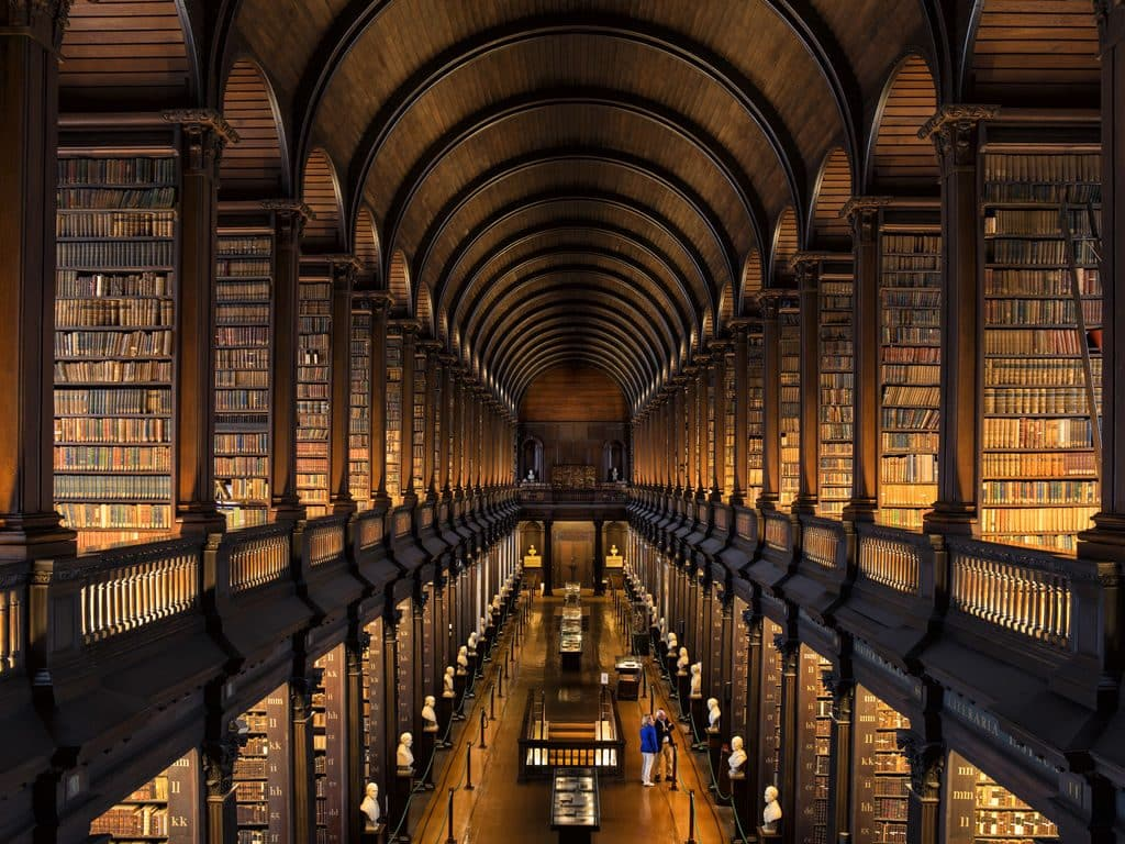 Trinity College is the top place to take visitors in Ireland's capital city
