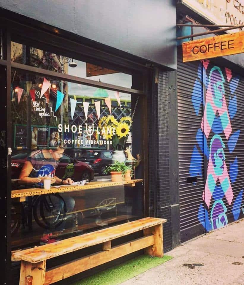 Breakfast at Shoe Lane in Dublin