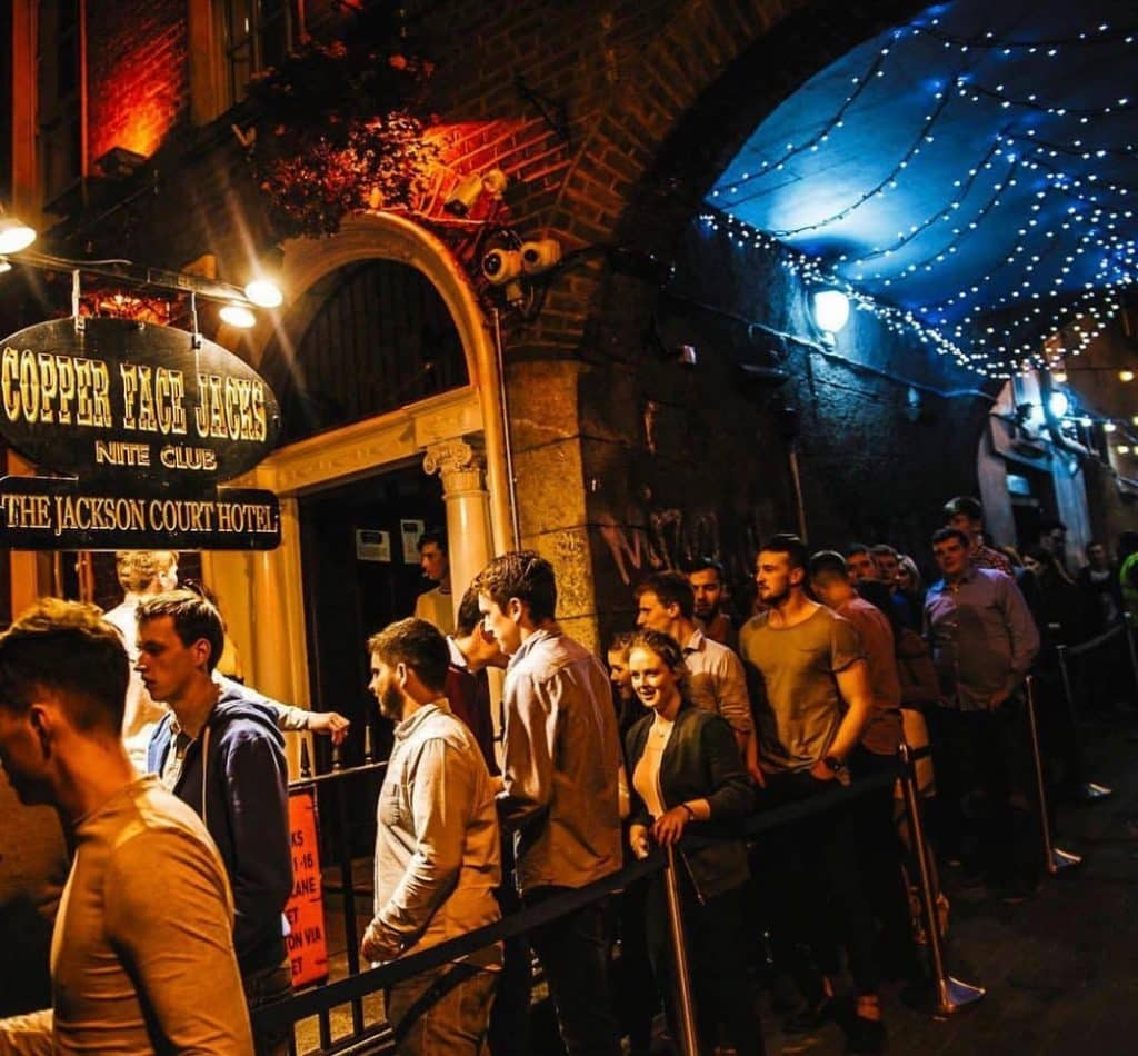 Copper Face Jack's is a notorious Dublin nightclub