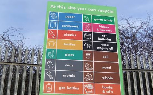 North Strand Recycling Centre in Dublin
