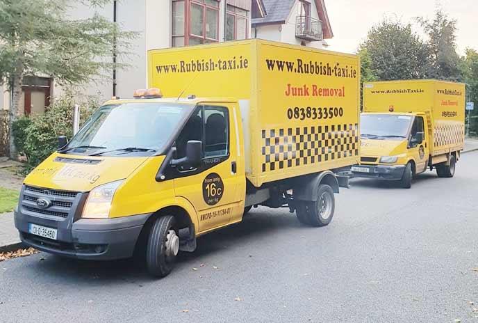 Rubbish removal in Dublin